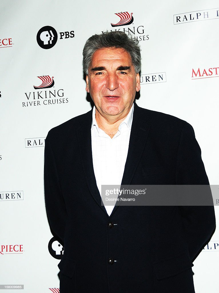 Actor Jim Carter attends the 'Downton Abbey' Season 3 Photo Call at the Essex House on December 12, 2012 in New York City.