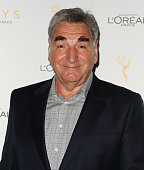 Actor Jim Carter attends the Television Academy's celebration for the 67th Emmy Award nominees for outstanding performances at Pacific Design Center...