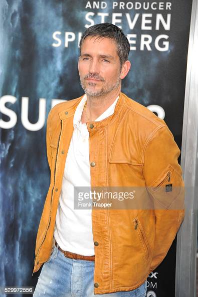 Actor Jim Caviezal arrives at the Premiere of Paramount Pictures' 'Super 8' held at the Regency Village Theater in WestwoodActor Jim Caviezal arrives...
