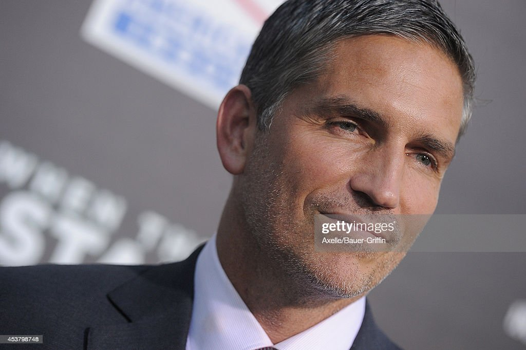 Actor Jim Caviezel attends the Los Angeles premiere of 'When The Game Stands Tall' at ArcLight Hollywood on August 4, 2014 in Hollywood, California.
