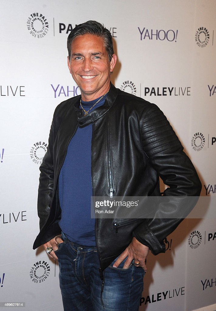 Actor Jim Caviezel attends The Paley Center For Media Hosts An Evening With 'Person Of Interest' at The Paley Center for Media on April 13, 2015 in New York City.