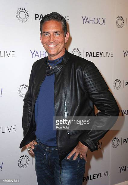 Actor Jim Caviezel attends The Paley Center For Media Hosts An Evening With 'Person Of Interest' at The Paley Center for Media on April 13 2015 in...