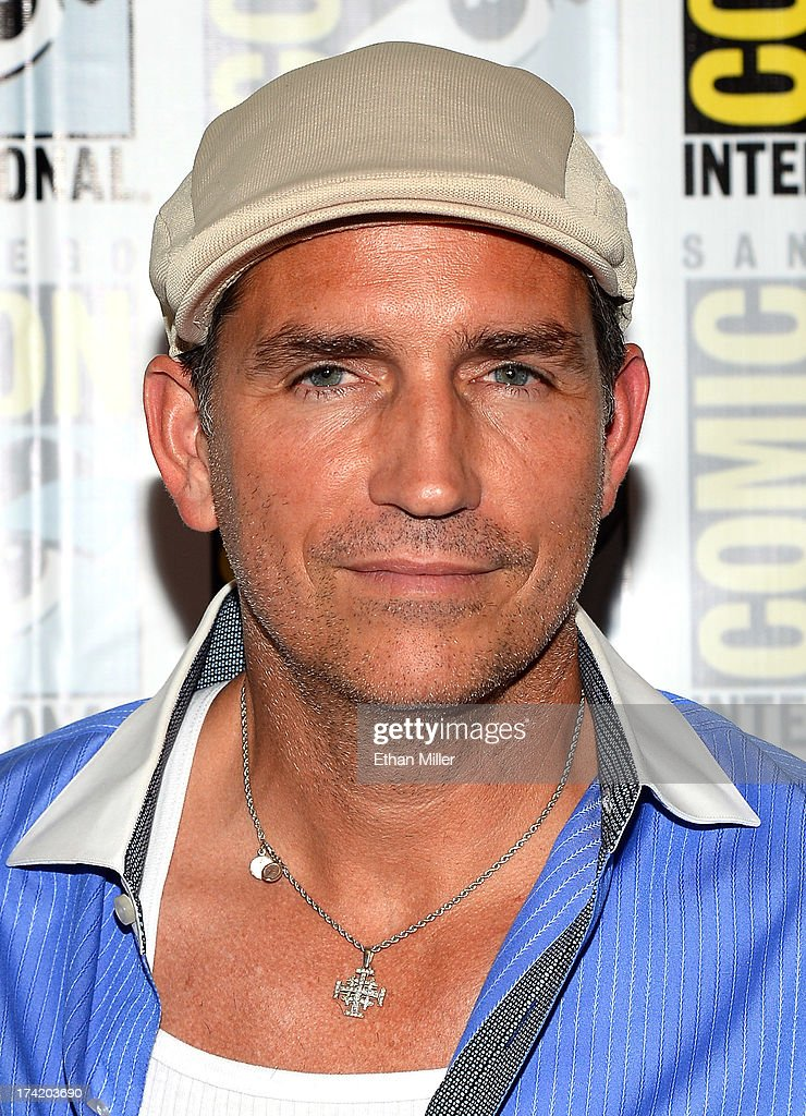 Actor Jim Caviezel attends the 'Person of Interest' press line during Comic-Con International 2013 at the Hilton San Diego Bayfront Hotel on July 20, 2013 in San Diego, California.