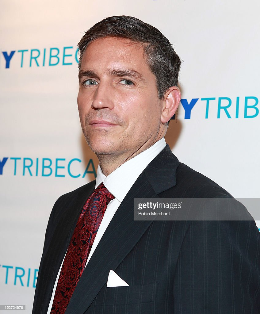 Actor Jim Caviezel attends the 'Person Of Interest' preview screening and Q&A at92Y Tribeca on September 24, 2012 in New York City.