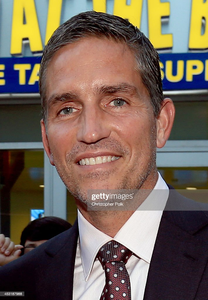 Actor Jim Caviezel attends the premiere of Tri Star Pictures' 'When The Game Stands Tall' at ArcLight Cinemas on August 4, 2014 in Hollywood, California.