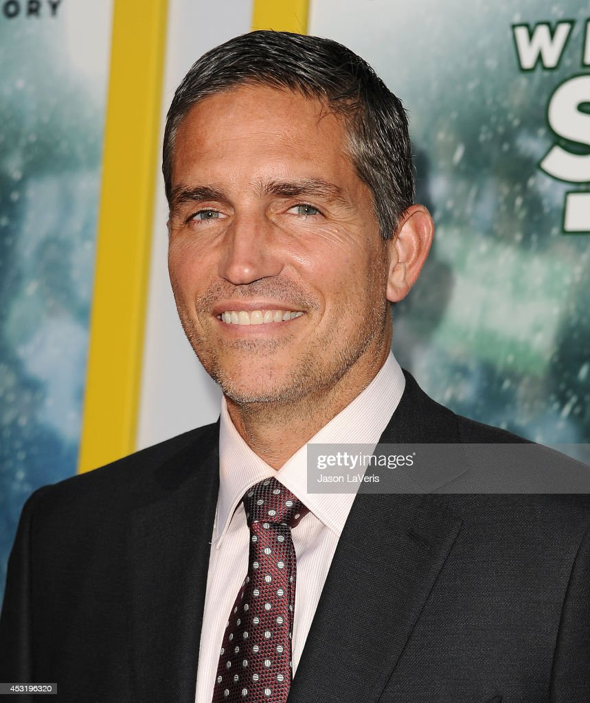Actor Jim Caviezel attends the premiere of 'When The Game Stands Tall' at ArcLight Hollywood on August 4, 2014 in Hollywood, California.