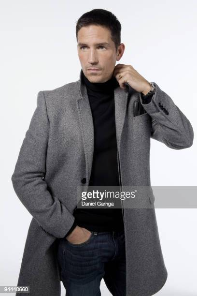 Actor Jim Caviezel poses for a portrait session on November 5 New York NY Published Image