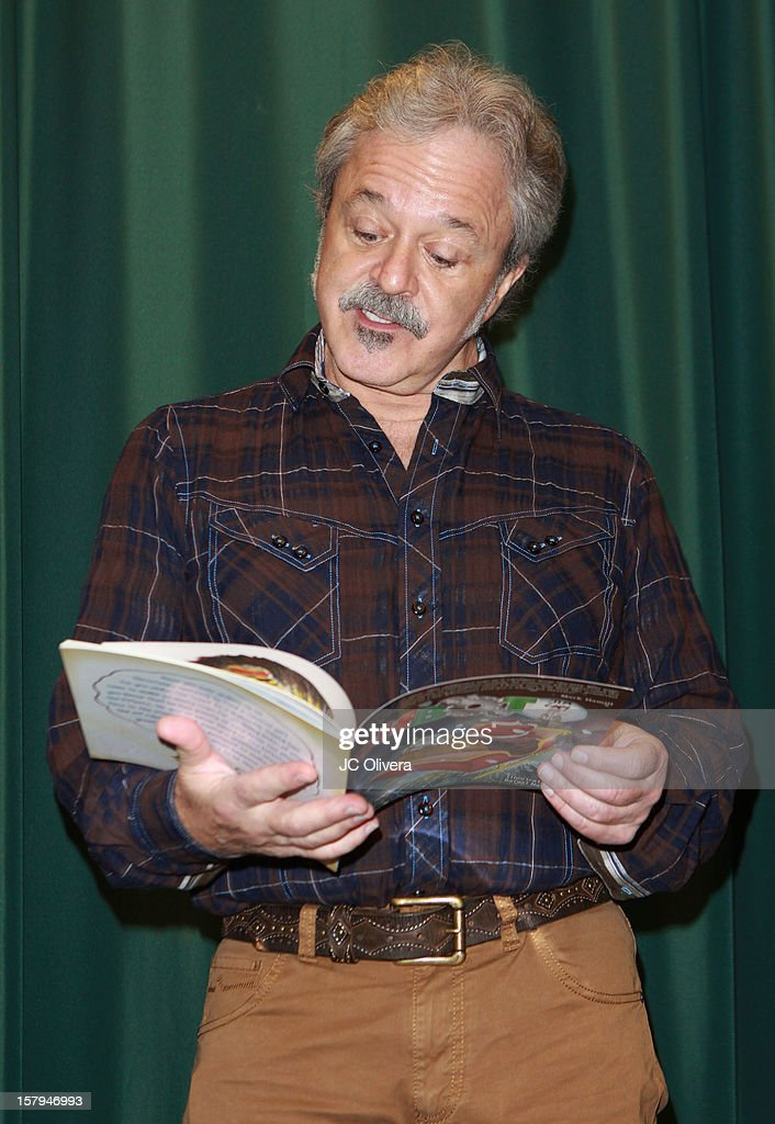 Actor Jim Cummings attends a live Interactive reading event of 'ELFBOT' inside Barnes & Noble at The Americana at Brand on December 7, 2012 in Glendale, California.