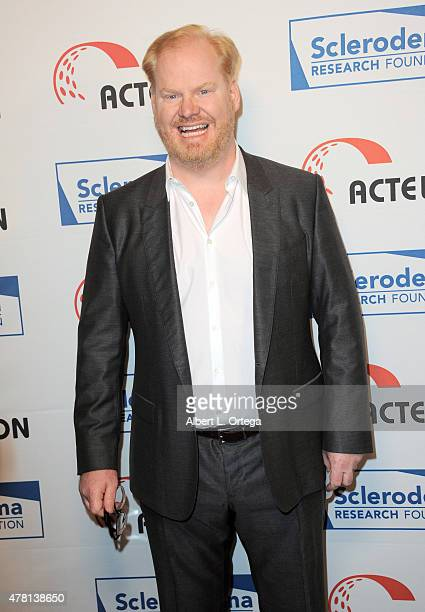 Actor Jim Gaffigan arrives for 'Cool Comedy Hot Cuisine' To Benefit The Scleroderma Research Foundation held at the Beverly Wilshire Four Seasons...