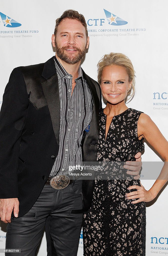Actor Jim Newman and actress <a gi-track='captionPersonalityLinkClicked' href=/galleries/search?phrase=Kristin+Chenoweth&family=editorial&specificpeople=207096 ng-click='$event.stopPropagation()'>Kristin Chenoweth</a> attend the 2014 National Corporate Theatre Fund Chairman's Awards Gala at The Pierre Hotel on March 31, 2014 in New York City.
