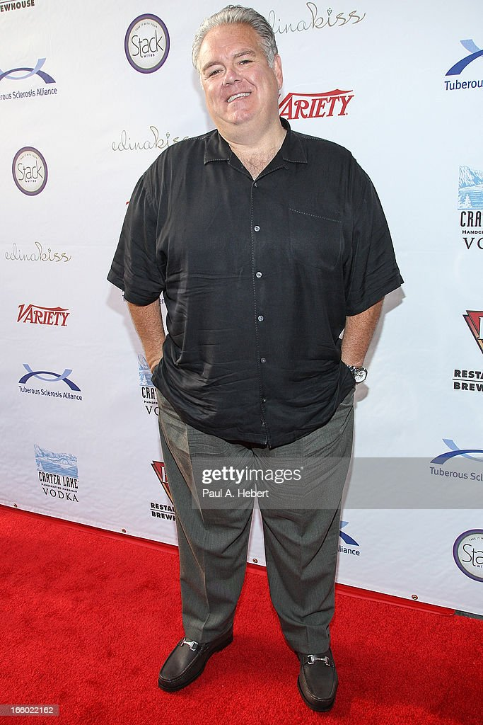 Actor <a gi-track='captionPersonalityLinkClicked' href=/galleries/search?phrase=Jim+O%27Heir&family=editorial&specificpeople=6317232 ng-click='$event.stopPropagation()'>Jim O'Heir</a> attends the Comedy for a Cure benefit held at Lure on April 7, 2013 in Hollywood, California.