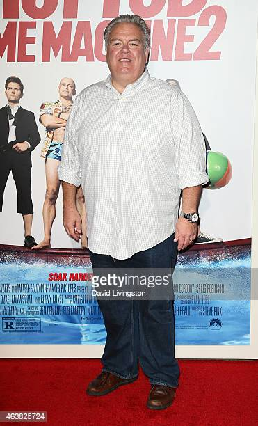 Actor Jim O'Heir attends the premiere of Paramount Pictures' 'Hot Tub Time Machine 2' at the Regency Village Theatre on February 18 2015 in Westwood...