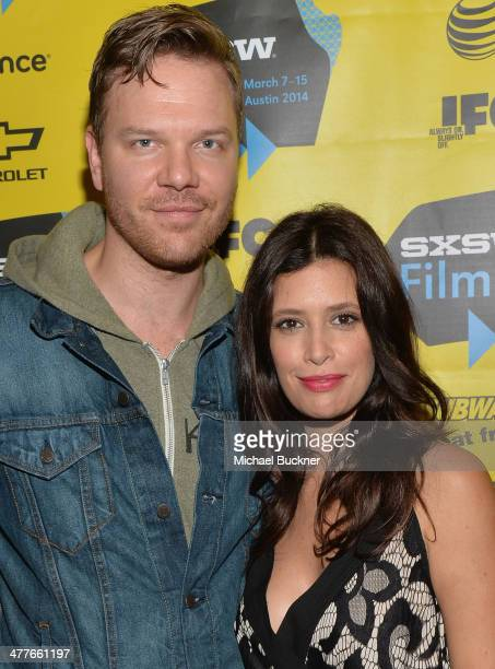 Actor Jim Parrack and actress Angie Cepeda attend the screening of 'A Night In Old Mexico' during the 2014 SXSW Music Film Interactive Festival' at...