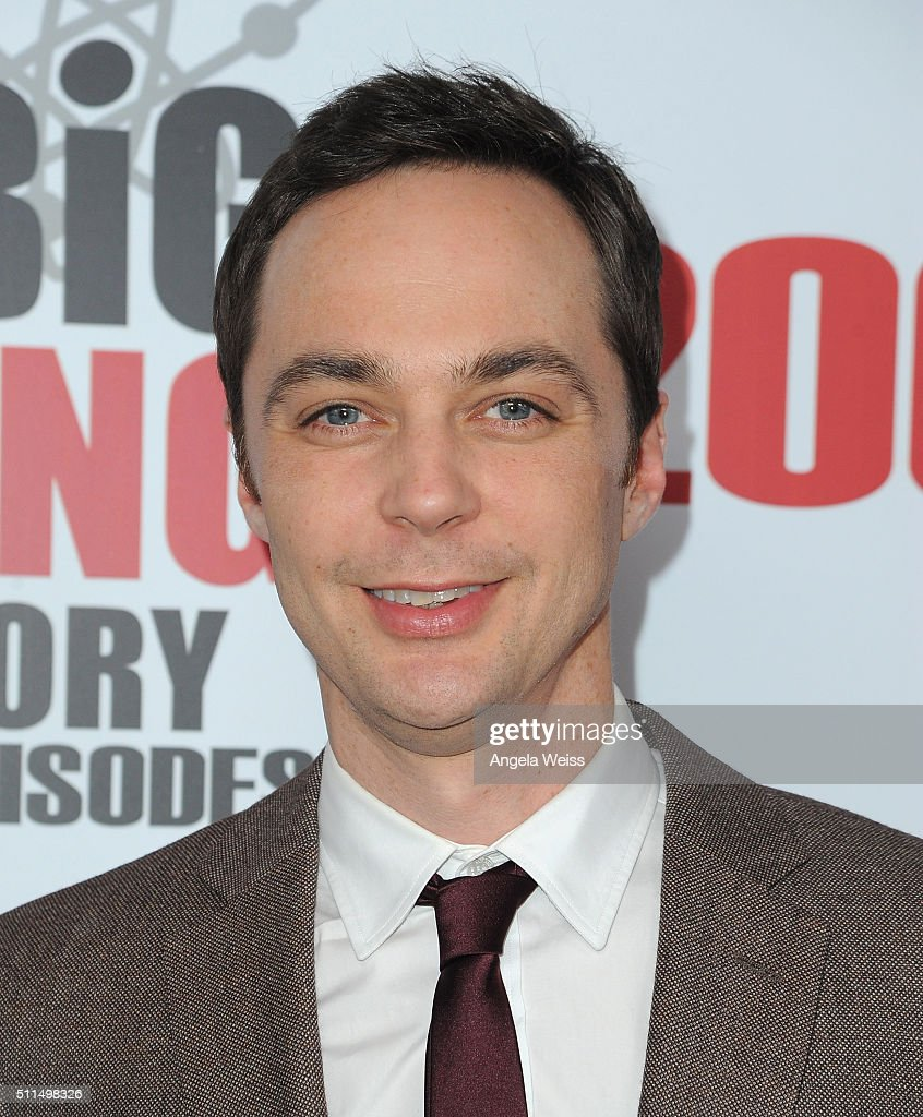 Actor Jim Parsons arrives at CBS's 'The Big Bang Theory' Celebrates 200th Episode at Vibiana on February 20 2016 in Los Angeles California