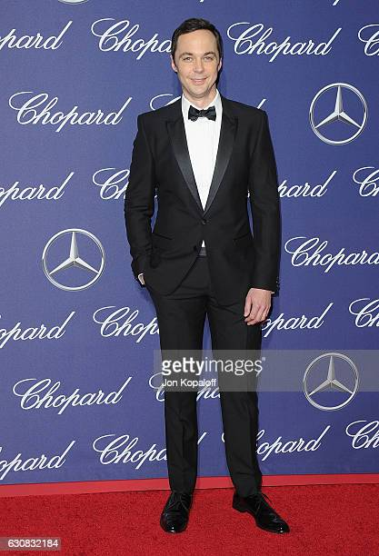 Actor Jim Parsons arrives at the 28th Annual Palm Springs International Film Festival Film Awards Gala at Palm Springs Convention Center on January 2...