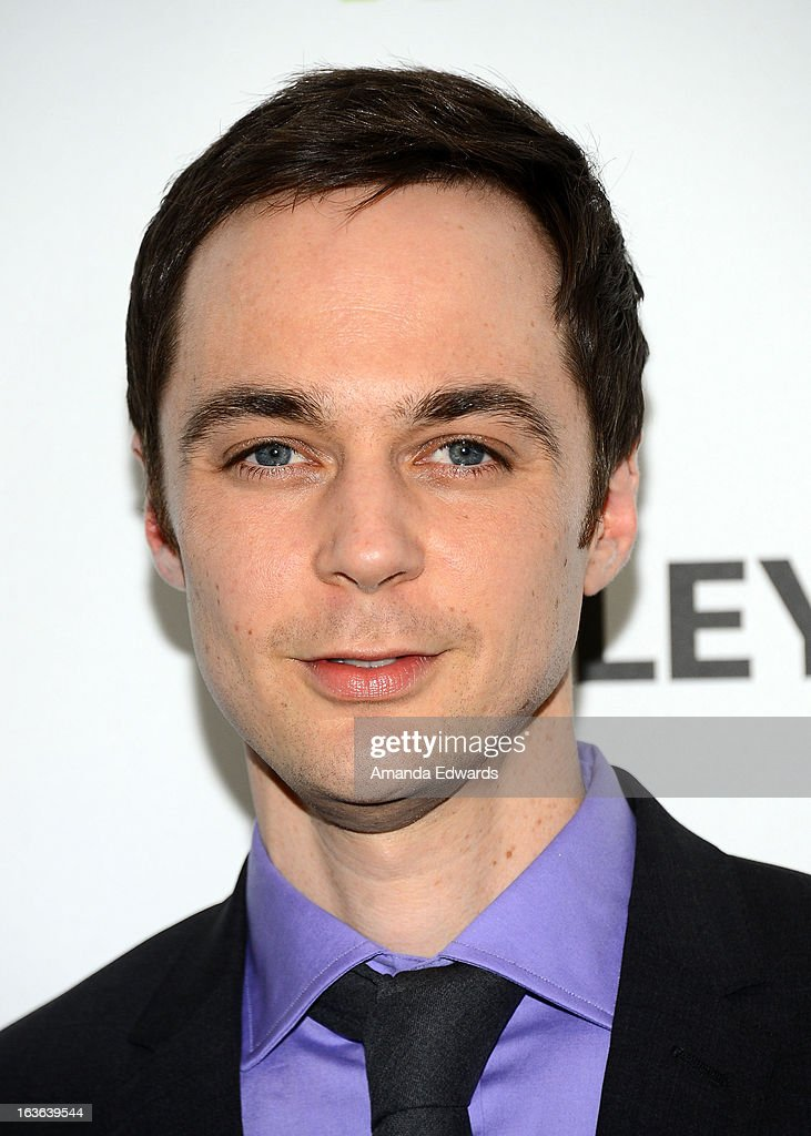 Actor <a gi-track='captionPersonalityLinkClicked' href=/galleries/search?phrase=Jim+Parsons&family=editorial&specificpeople=2480791 ng-click='$event.stopPropagation()'>Jim Parsons</a> arrives at the 30th Annual PaleyFest: The William S. Paley Television Festival featuring 'The Big Bang Theory' at the Saban Theatre on March 13, 2013 in Beverly Hills, California.