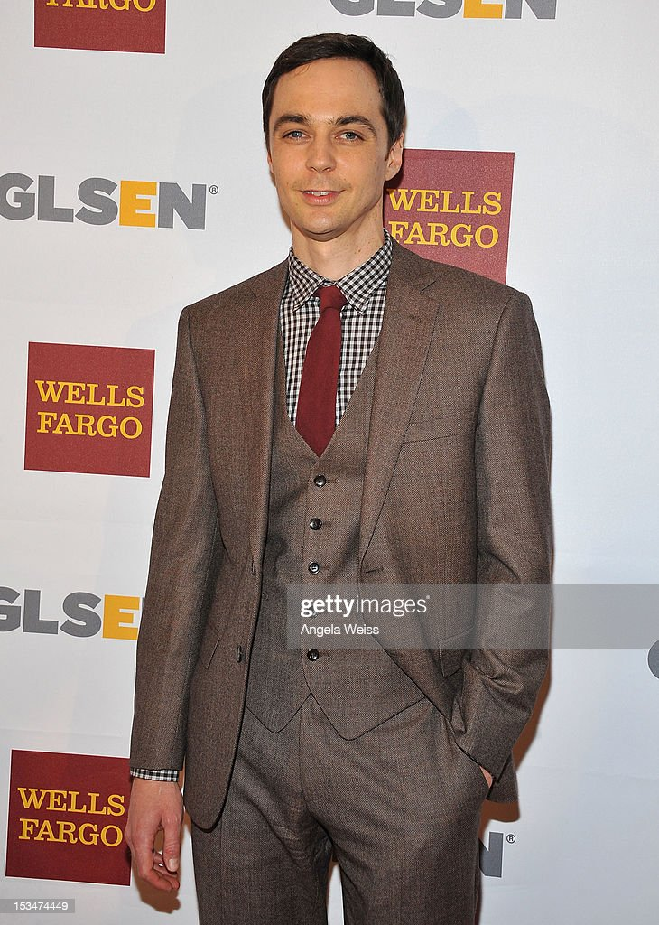 Actor <a gi-track='captionPersonalityLinkClicked' href=/galleries/search?phrase=Jim+Parsons&family=editorial&specificpeople=2480791 ng-click='$event.stopPropagation()'>Jim Parsons</a> arrives at the 8th annual GSLEN Respect Awards at Beverly Hills Hotel on October 5, 2012 in Beverly Hills, California.