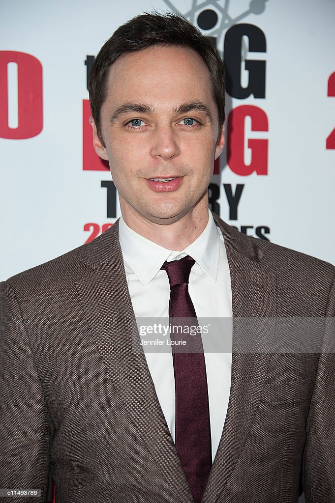 Actor Jim Parsons arrives at the CBS's 'The Big Bang Theory' Celebrates 200th Episode at the Vibiana on February 20 2016 in Los Angeles California