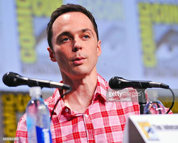 Actor Jim Parsons at DreamWorks Animation Presentation of 'Home' ComicCon International 2014 held at the San Diego Convention Center on July 24 2014...
