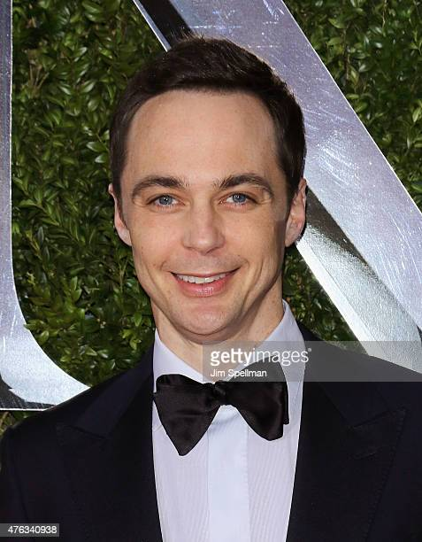 Actor Jim Parsons attends American Theatre Wing's 69th Annual Tony Awards at Radio City Music Hall on June 7 2015 in New York City