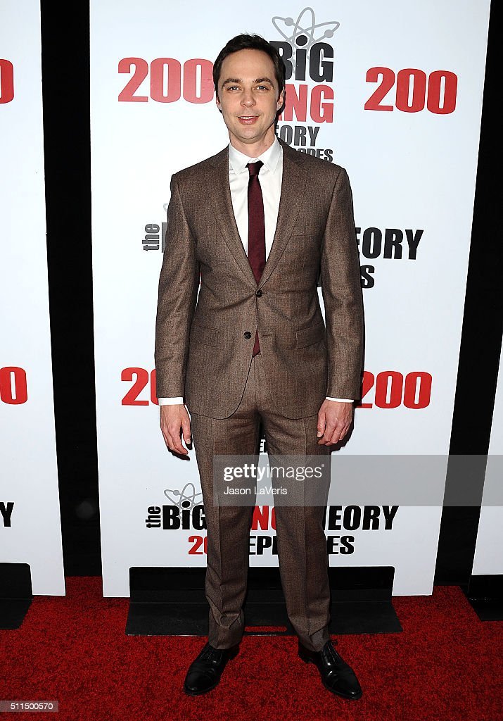 Actor Jim Parsons attends 'The Big Bang Theory' 200th episode celebration at Vibiana on February 20 2016 in Los Angeles California