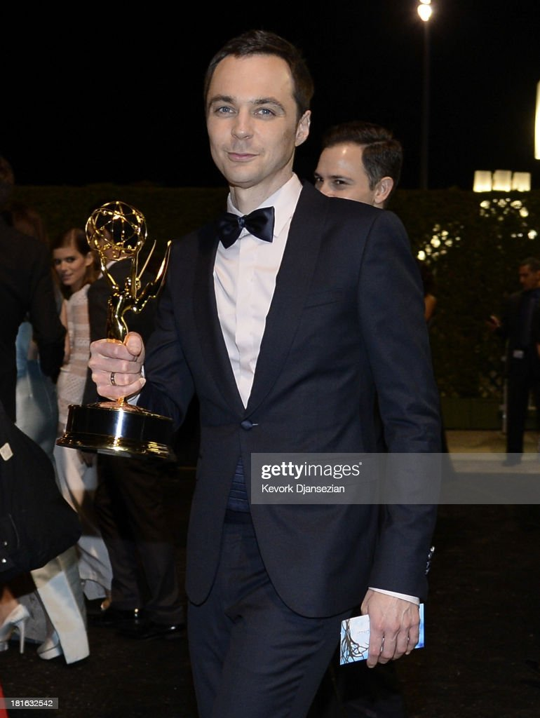 Actor <a gi-track='captionPersonalityLinkClicked' href=/galleries/search?phrase=Jim+Parsons&family=editorial&specificpeople=2480791 ng-click='$event.stopPropagation()'>Jim Parsons</a> attends the Governors Ball during the 65th Annual Primetime Emmy Awards at Nokia Theatre L.A. Live on September 22, 2013 in Los Angeles, California.