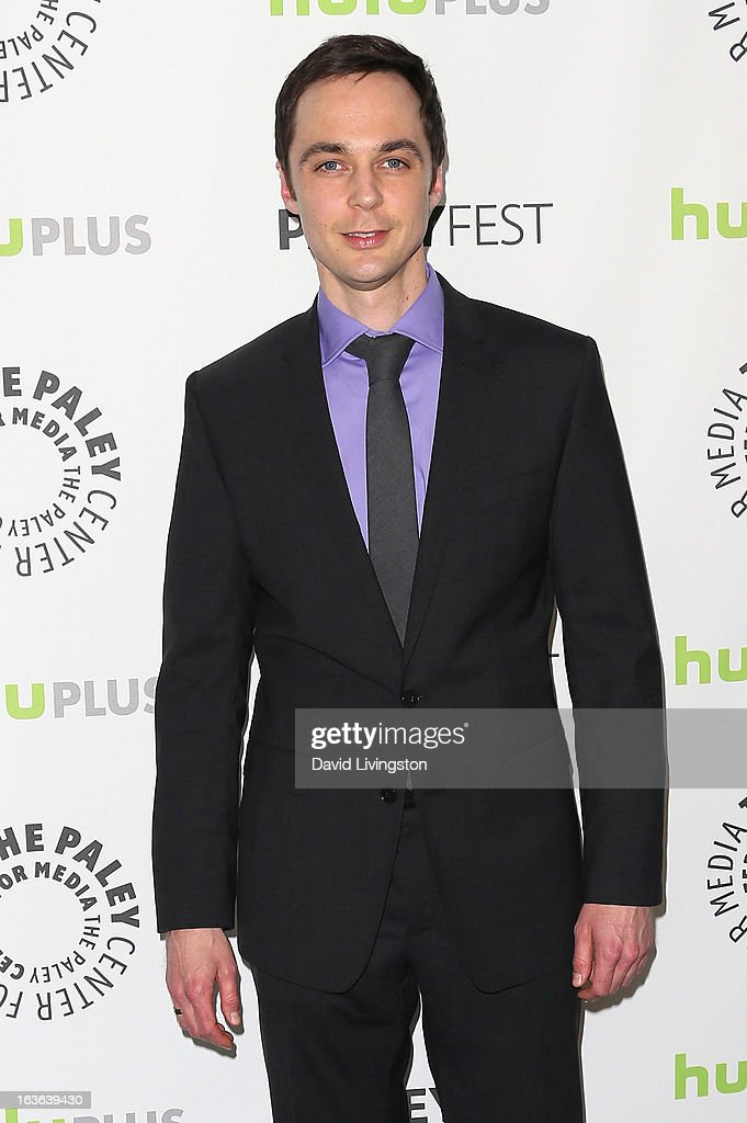 Actor Jim Parsons attends The Paley Center For Media's PaleyFest 2013 honoring 'The Big Bang Theory' at the Saban Theatre on March 13, 2013 in Beverly Hills, California.