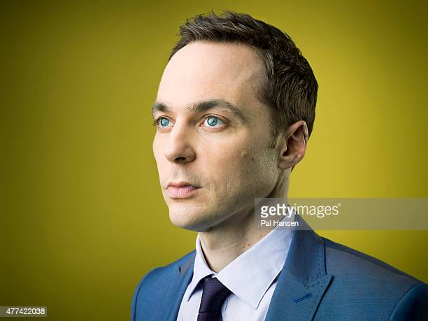 Actor Jim Parsons is photographed for the Sunday Times on February 23 2015 in London England