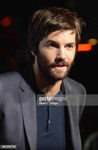 Actor Jim Sturgess arrives for the Premiere Of Warner Bros Pictures' 'Geostorm' held at TCL Chinese Theatre on October 16 2017 in Hollywood California
