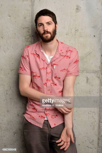 Actor Jim Sturgess from 'Electric Slide' poses for the Tribeca Film Festival Getty Images Studio on April 23 2014 in New York City