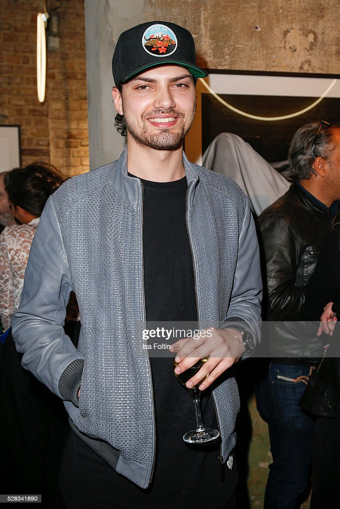 Actor Jimi Blue Ochsenknecht attends the photo art exhibition and book launch of BILLY at Seven Star Gallery on May 4, 2016 in Berlin, Germany.