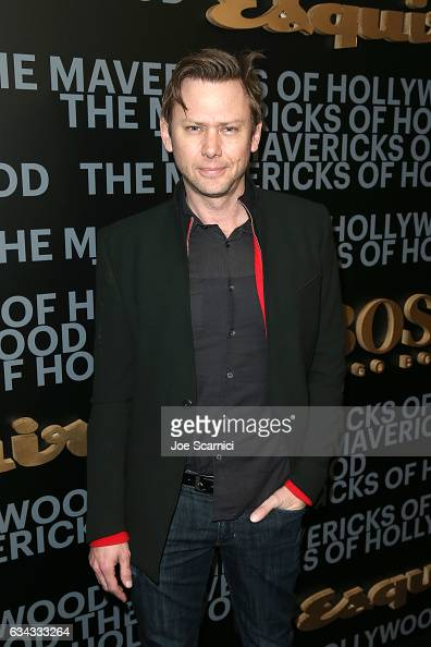 Actor Jimmi Simpson attends Esquire's celebration of March cover star James Corden and the Mavericks of Hollywood presented by Hugo Boss at Sunset...