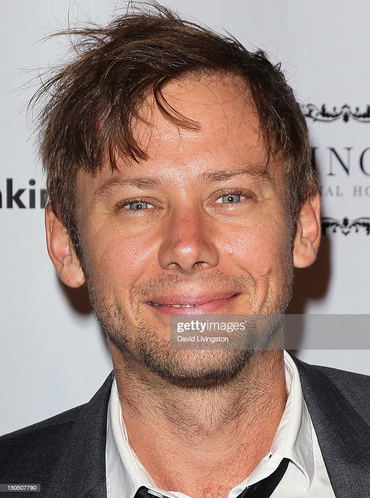 Actor Jimmi Simpson attends Friends to Mankind's 2nd annual 18 For 18 charity event and fundraiser 'The Jump' benefitting the Somaly Mam Foundation at Lexington Social House on August 19, 2012 in Hollywood, California.