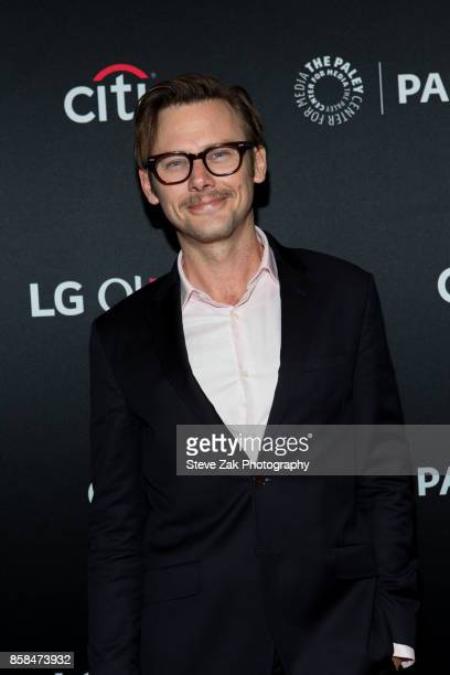 Actor Jimmi Simpson attends PaleyFest NY 2017 'Black Mirror' at The Paley Center for Media on October 6 2017 in New York City