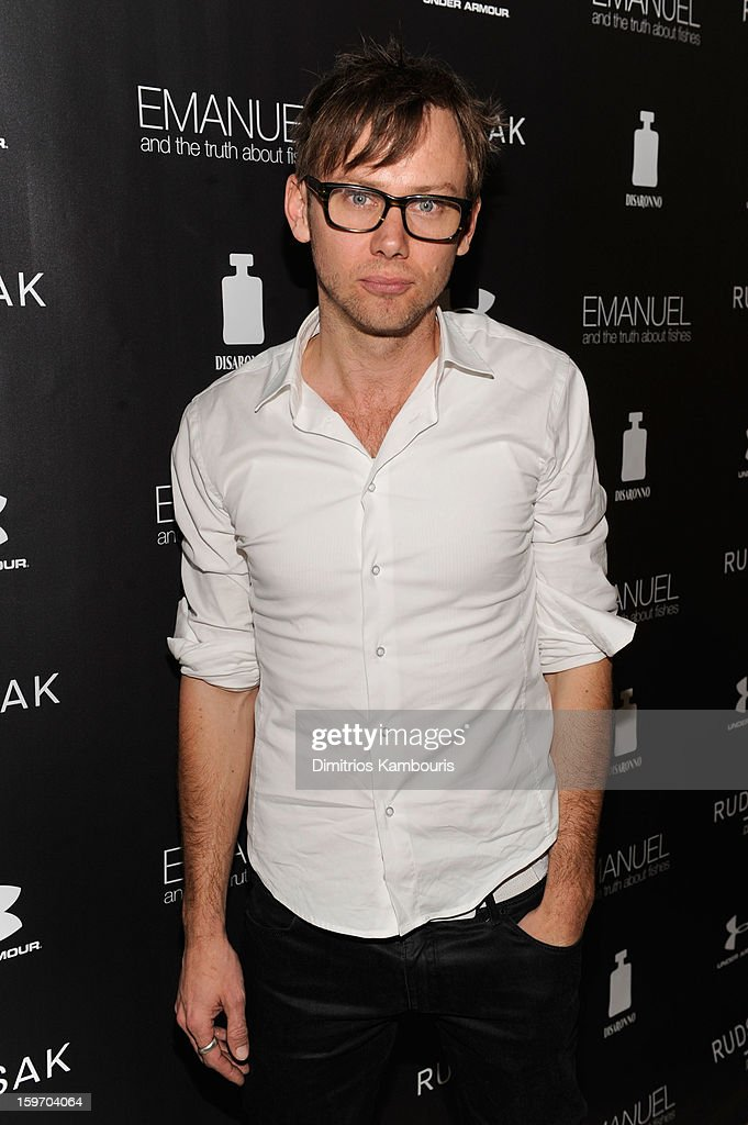 Actor Jimmi Simpson attends The Next Generation Filmmaker Dinner Series Presents 'Emanuel And The Truth About Fishes' on January 18, 2013 in Park City, Utah.