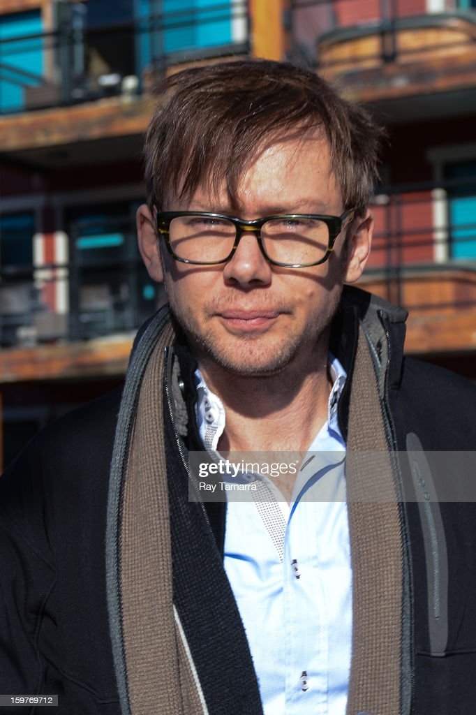 Actor Jimmi Simpson walks in Park City on January 19, 2013 in Park City, Utah.