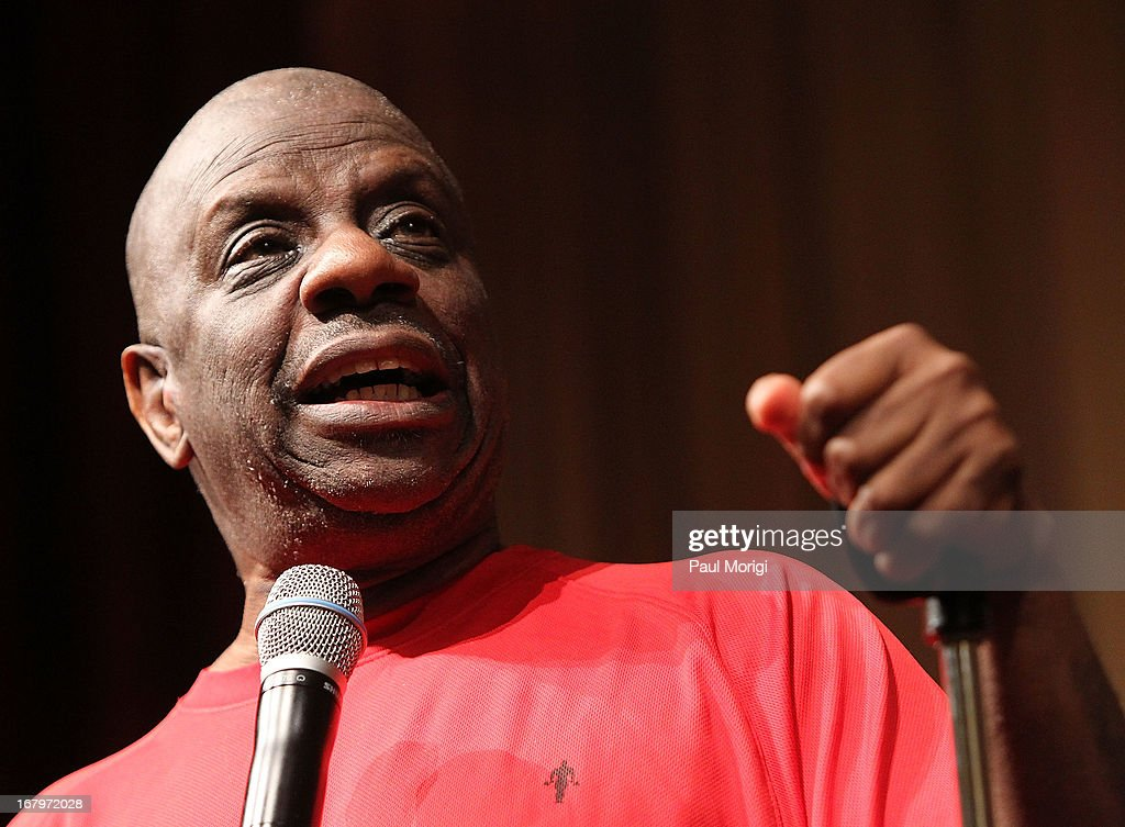 Actor <a gi-track='captionPersonalityLinkClicked' href=/galleries/search?phrase=Jimmie+Walker+-+Actor&family=editorial&specificpeople=650111 ng-click='$event.stopPropagation()'>Jimmie Walker</a> discusses his book 'Dynomite! Good Times, Bad Times, Our Times - A Memoir' at the McGowan Theater on May 3, 2013 in Washington, DC.