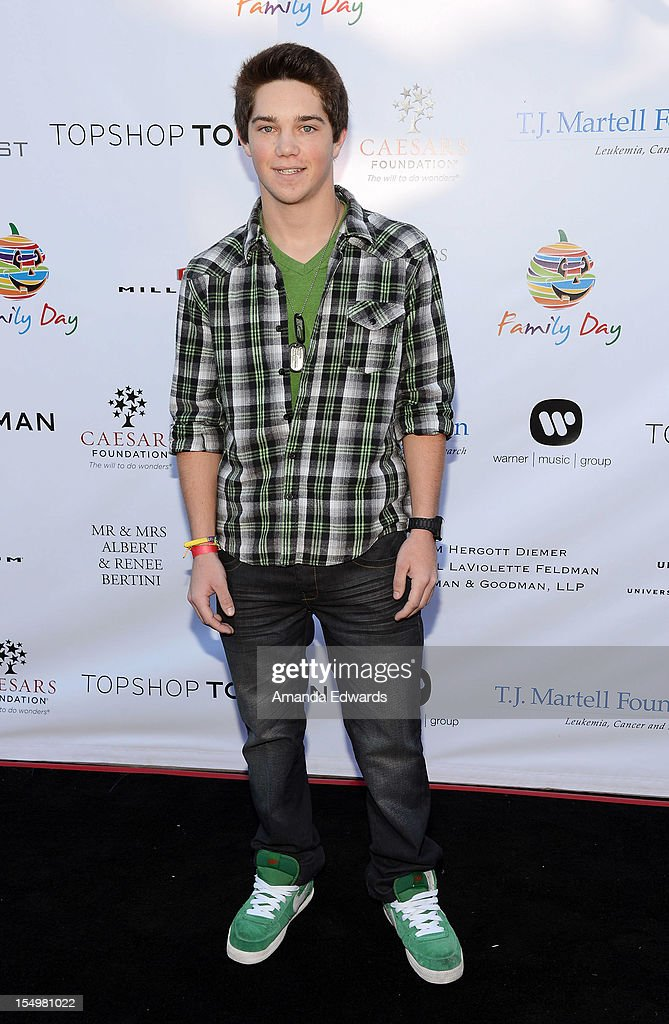 Actor Jimmy Deshler arrives at the TJ Martell Foundation 4th Annual Family Day LA at CBS Studios - Radford on October 28, 2012 in Studio City, California.