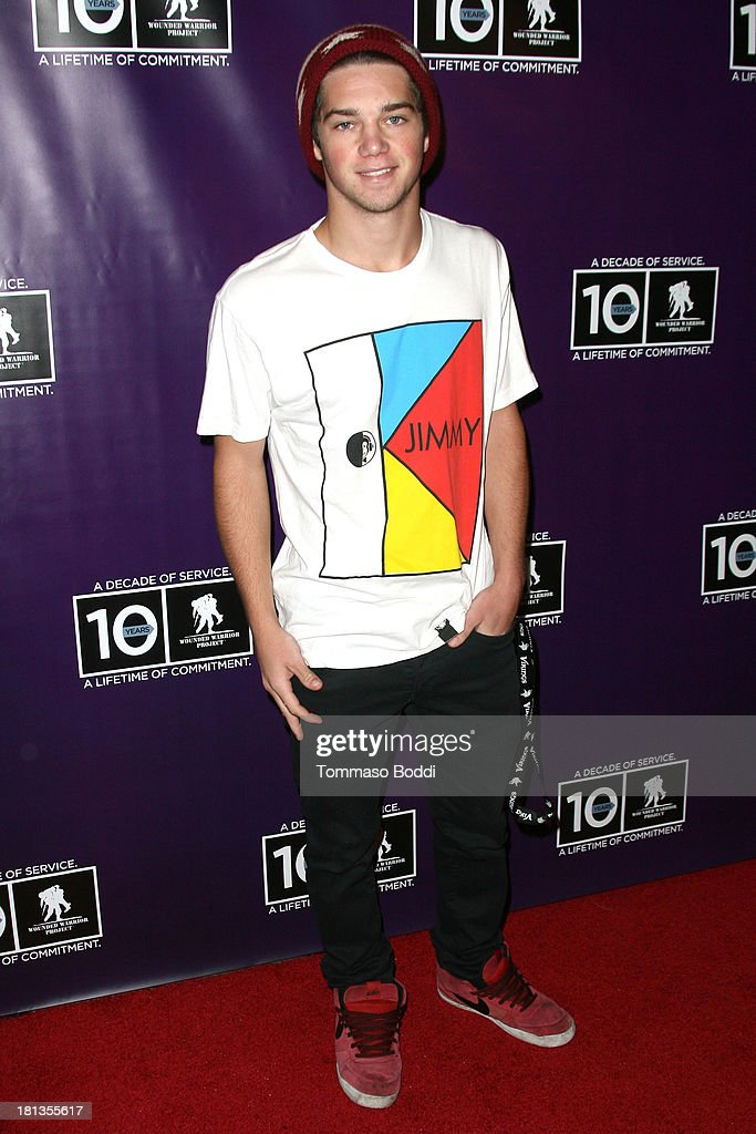 Actor Jimmy Deshler attends the Wounded Warrior Project style and beauty charity event held at Avalon on September 20, 2013 in Hollywood, California.