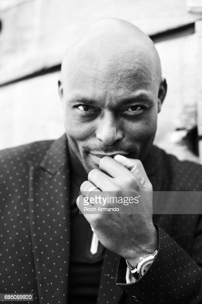 Actor Jimmy Jean Louis is photographed for Self Assignment on MAY 25 2017 in Cannes France