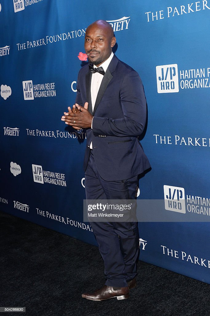Actor Jimmy Jean-Louis arrives at the 5th Annual Sean Penn & Friends HELP HAITI HOME Gala benefiting J/P Haitian Relief Organization at Montage Hotel on January 9, 2016 in Beverly Hills, California.