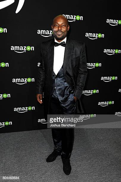 Actor Jimmy JeanLouis attends Amazon Studios Golden Globe Awards Party at The Beverly Hilton Hotel on January 10 2016 in Beverly Hills California