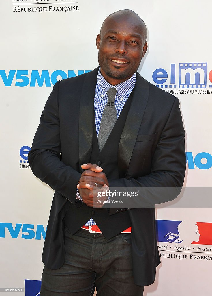 Actor Jimmy Jean-Louis attends an event hosted by the Consul General Of France, Mr. Axel Cruau, honoring the French nominees for the 85th Annual Academy Awards at the French Consulate's home on February 25, 2013 in Beverly Hills, California.