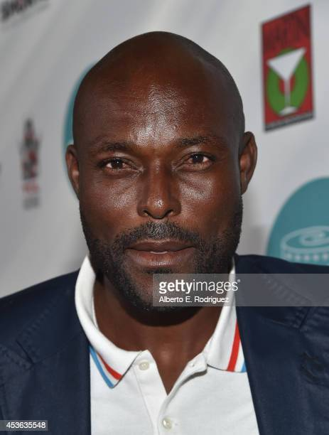 Actor Jimmy JeanLouis attends the Hollyshorts 10th Anniversary Opening Night at The TCL Chinese Theatres on August 14 2014 in Hollywood California