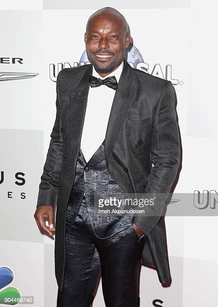 Actor Jimmy JeanLouis attends Universal NBC Focus Features and E Entertainment Golden Globe Awards After Party sponsored by Chrysler at The Beverly...