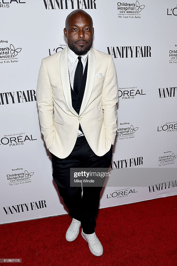 Actor Jimmy Jean-Louis attends Vanity Fair, L'Oreal Paris, & Hailee Steinfeld host DJ Night at Palihouse Holloway on February 26, 2016 in West Hollywood, California.