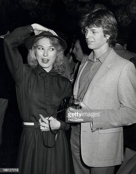 Actor Jimmy McNichol and Tanya Tucker attending 'California Bilateral Nuclear Weapons Freeze Initiative' on January 10 1982 at Bud Yorkin's home in...