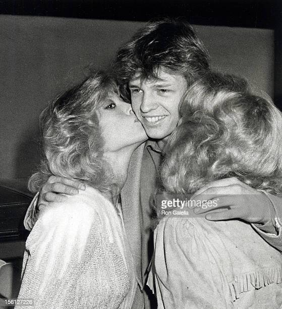 Actor Jimmy McNichol Judy Landers and Audrey Landers attending 'California Bilateral Nuclear Weapons Freeze Initiative' on January 10 1982 at Bud...