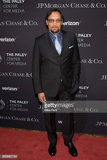 Actor Jimmy Smits attends the 2016 Paley Center for Media's Tribute To Hispanic Achievements In Television at Cipriani Wall Street on May 18 2016 in...