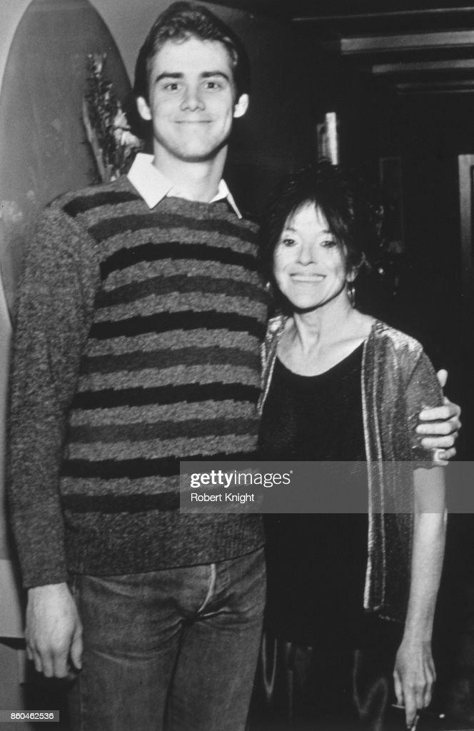 . Actor Jim's Carrey Album - Jim Carrey and actress Mitzi Shore